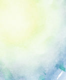 Abstract light watercolor background. stock image