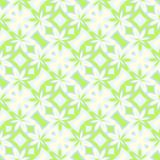 Abstract light white-green floral pattern. Seamless illustration. Royalty Free Stock Images