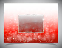 Abstract light winter backgound Royalty Free Stock Photos