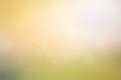 Abstract light yellow-green blurred background Stock Photos