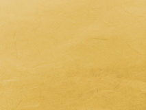 Abstract Light Yellow Recycle Mulberry Paper Texture Background Royalty Free Stock Images