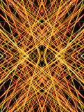 Abstract light zigzag pattern Stock Photos