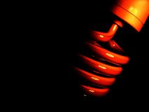 Abstract Lightbulb Royalty Free Stock Photography