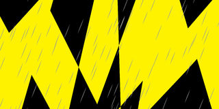 Abstract Lightening Storm Stock Photography