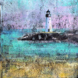 Abstract Lighthouse Royalty Free Stock Photos