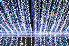 Abstract lighting for background. Abstract lighting chrismas blurred background and bokeh royalty free stock photos