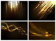 Abstract lighting background. For your design work Royalty Free Illustration