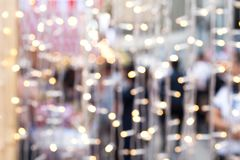 Abstract lighting for background. Abstract lighting chrismas blurred background and soft bokeh royalty free stock photography