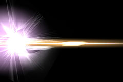 Abstract lighting flare Royalty Free Stock Image