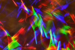 Abstract lighting trace. Royalty Free Stock Image