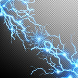 Abstract lightning storm background. EPS 10 Royalty Free Stock Image