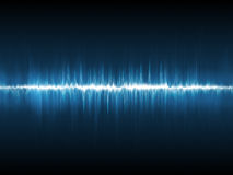 Abstract lightning waveform Stock Image