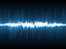 Abstract lightning waveform Royalty Free Stock Image