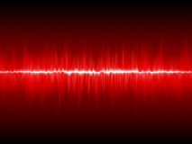 Abstract lightning waveform Royalty Free Stock Photo