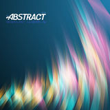 Abstract Lightpainting Vector Background Royalty Free Stock Photography