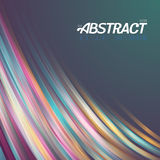 Abstract Lightpainting Vector Background Stock Photography