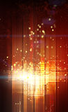 Abstract Lights. An illustrated background with lights royalty free illustration