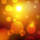Abstract lights. Blurry abstract lights background illustration royalty free illustration