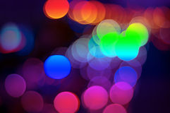 Abstract lights Royalty Free Stock Photo