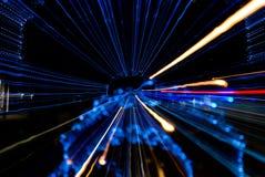 abstract lights Στοκ Φωτογραφίες