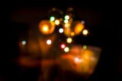 abstract lights Στοκ Εικόνα