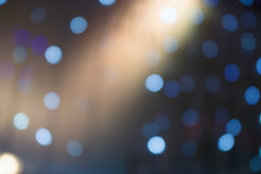 Abstract lights bacground, night club, colorful bokeh. Royalty Free Stock Images