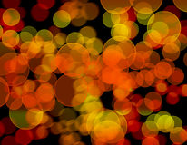 Abstract lights background. Bokeh effects Royalty Free Stock Images