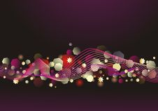 Abstract lights background. Stock Photo