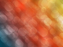Abstract lights background. Abstract background of streaks of lights in different bokeh effects royalty free illustration