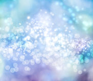 Abstract Lights Background. Blue Colored Abstract Lights Background Royalty Free Illustration