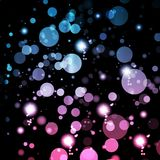 Abstract lights background Stock Photography