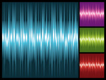Abstract lights background with stripes. Illustration Royalty Free Stock Photos
