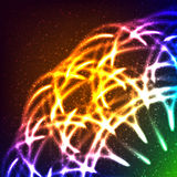 Abstract lights background. Vector illustration Royalty Free Stock Photo