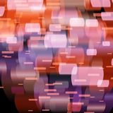 Abstract lights, blurred abstract pattern. Vector illustration stock illustration