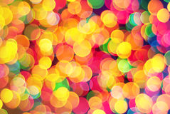 Abstract lights bokeh background Stock Photos
