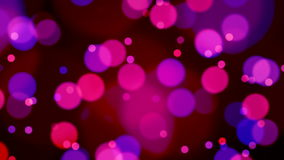 Abstract Lights bokeh background loop stock footage