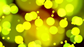 Abstract Lights bokeh background loop stock video footage