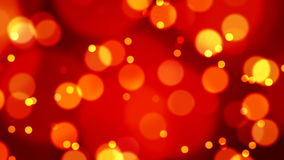 Abstract Lights bokeh background loop Stock Image