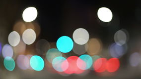 Abstract lights stock footage