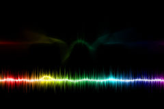 Abstract lights Colorful background royalty free stock image