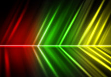Abstract lights Colorful Stock Photo