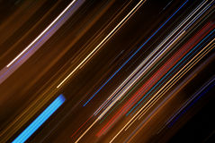 Abstract lights composition Stock Photo