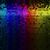 Abstract lights disco background Royalty Free Stock Images