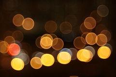 Abstract lights, flash , night city Royalty Free Stock Photos
