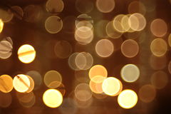 Abstract lights, flash, night city Royalty Free Stock Photos