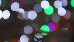 Abstract lights stock video
