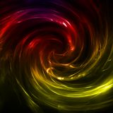 Abstract lights lines twist background. Vector Stock Photography