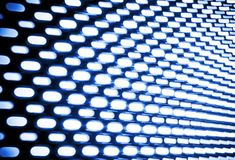 Abstract Lights Motion Backdrop Stock Photos