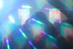 abstract lights nightclub dance party background hologram royalty free stock image