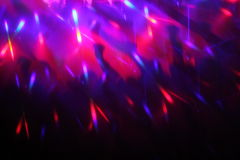 Nightclub background abstract lights nightclub dance party background. Lights and lasers Stock Photography